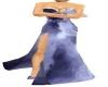long spilt dress