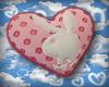 Bunny Heart Pillow V2