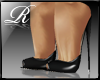 R™Cupid Black Stilettos