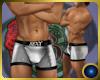 Silver Latex Boxer Muscl