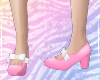 Lolita Pink Maid-Shoes