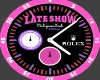 """the """"Late Show"""" Rolex f"""