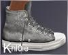 K grey kicks
