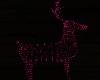flickering xmas deer