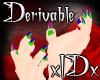 xIDx Derv. Tiny Claws M