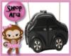 Little Black Car Purse