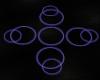 Neon Purple Floor Lights