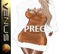 ~V~Xmas Dress PREG GLD/W