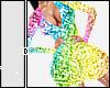 D| Rainbow Sequin - S