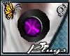(BFD) N Plugs Purple Orb