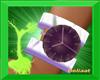 D purple watch