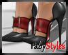 Black Satin High Heels