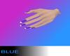 *B* Purple party nails