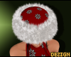 D. Snowflake Fur Hat