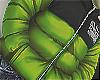 PUFFER SLUM GREEN (F)