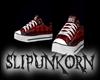 punk converse sneakers