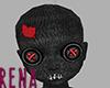 Voodoo Doll Bald Head