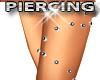 Upper Leg Piercing Studs