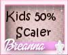 Kids 50% Avatar Scaler