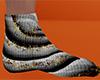 Halloween Swirl Sock 11M