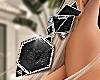 Girl Earrings Black
