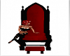 Red/Black couples throne