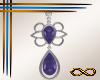 [CFD]Violet Earrings