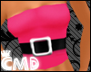 {CMD} Pink Top+Blaq Belt
