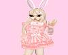 baby dress pink core