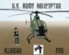 az u.s. army helicopter