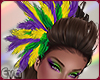 ED* Mardi Gras Feather
