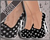 K| Polka Pumps Black