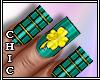 Saint Patrick Nails