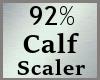 92% Calves Calf Scale MA