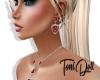 *T* Summer Ruby Earrings