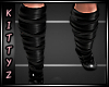 ! Strapy Boots Black