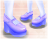<3 Sweet Doll Shoes Blue