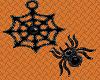 Spider & Web Black