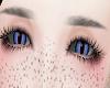 Dragon purple eyes