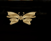 (RN) Gold butterfly