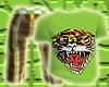 *CA* Green Tiger Tee