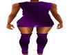 Purple Socks Outfit