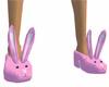 Pink Pomises slippers