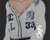 Cream & Blue Cardigan F