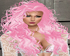 Pink Permed Hair