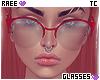 ® Tc. Red Glasses