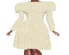 JK-Casual Cream Dress