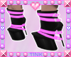 Strapped Boots | Pink