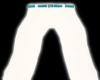 Wht/Teal Tux Pants