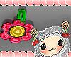 brinco de flor kids